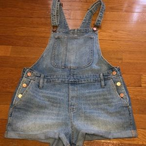 Jean overalls size M